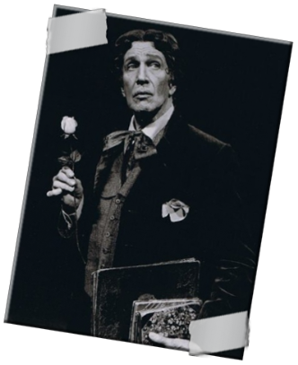 "Vincent Price as Oscar Wilde in ""Diversions and Delights"""